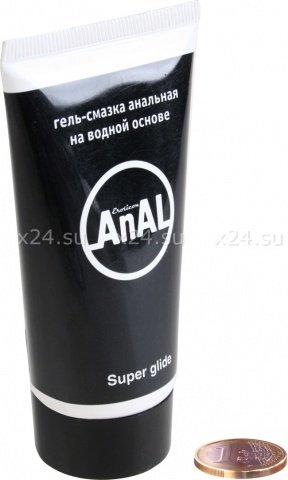 Гель-смазка анальная anal super glide, Гель-смазка анальная anal super glide