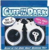 Светящиеся в темноте наручник - Секс шоп Мир Оргазма