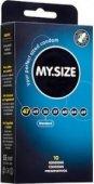 Презервативы my. size размер 47 (ширина 47mm) - Секс шоп Мир Оргазма
