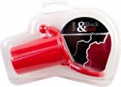 Насадка силиконовая, красная - Секс шоп Мир Оргазма