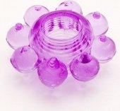 Кольцо гелевое фиолетово - Секс шоп Мир Оргазма