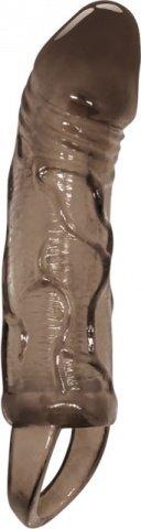 Стимулирующая насадка на пенис с внутренней вибрацией Men Extension 19 см, фото 2, Стимулирующая насадка на пенис с внутренней вибрацией Men Extension 19 см