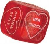 Любовный кубик party dice красны - Секс шоп Мир Оргазма