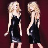 Облегающее платье со шнуровкой на спин - Секс шоп Мир Оргазма