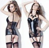Черное платье с кружево - Секс шоп Мир Оргазма