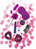 Эротический набор super sex bomb purple - Секс шоп Мир Оргазма