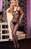 Кэтсьюит с отделкой рюшам - Секс шоп Мир Оргазма