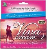 (3 тюбика) крем `vivacream` стимулирующий для женщин - Секс шоп Мир Оргазма