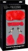 Секс-набор для фетиша Lovers Bondage Kit - Секс шоп Мир Оргазма