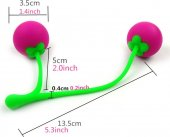 Вагинальные шарики Сладкая вишня 47075, общая длина изделия 17 см, диаметр 3 см - Секс шоп Мир Оргазма