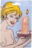 Свеча в форме пенис - Секс шоп Мир Оргазма