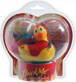Вибратор утка-дьяволенок - I Rub My Duckie Red Devil, цвет Желты - Секс шоп Мир Оргазма