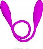 Мини-вибратор Snaky Vibe на гибком стержне, 7 видов вибрации, 32 х600 мм - Секс шоп Мир Оргазма
