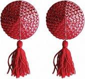 Пестисы Tassels Round Red SH-OU030RE - Секс шоп Мир Оргазма
