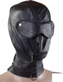 Р85 Шлем на ошейнике, чёрный, размер универсальный - Всероссийский ОнЛайн секс шоп - Секс Заказ .Ру. Интернет магазин Секс товаров. Только у нас отличный выбор товаров для секса по самым низким ценам и быстрой доставкой по России!</