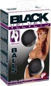 Вагинальные шарики на сцепке Black Velvets The Perfect Ball - Секс шоп Мир Оргазма