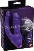 Анально-вагинальный вибромассажер Double Pleasure Vib - Секс шоп Мир Оргазма