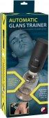 Автоматическая вакуумная помпа для увеличения головки пениса Automatic Glans Trainer 24см - Секс шоп Мир Оргазма