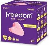 Мягкие тампоны для любви во время месячных freedom mini sport, spa, love, swim (  - Секс шоп Мир Оргазма