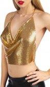 Фиксация: упряжь на тело bijoux de corps ambre or - Секс шоп Мир Оргазма