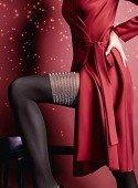 Колготки с имитацией чулок со сверкающей коронкой Pari Lurex S (2) 60 Den - Секс шоп Мир Оргазма